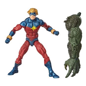 Captain Marvel figure comes with Build-A-Figure part.