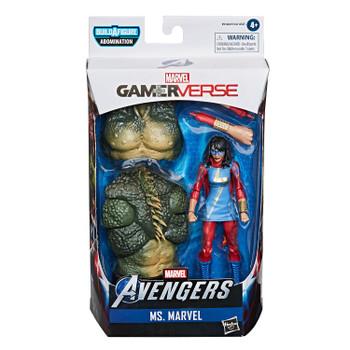 Marvel Legends Gamerverse Series 6-Inch MS. MARVEL Action Figure in packaging.