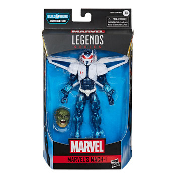 Marvel Legends Gamerverse Series 6-Inch MARVEL'S MACH-I Action Figure in packaging.