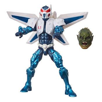 Marvel's Mach-I comes with accessory and Build-A-Figure part.