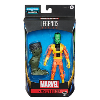 Marvel Legends Gamerverse Series 6-Inch MARVEL'S LEADER Action Figure in packaging.