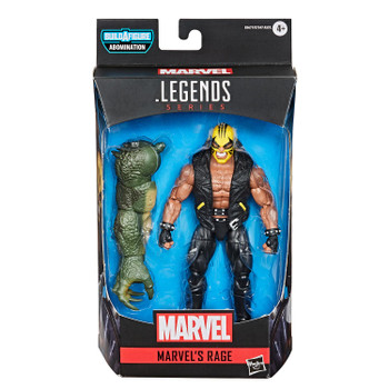 Marvel Legends Gamerverse Series 6-Inch MARVEL'S RAGE Action Figure in packaging.