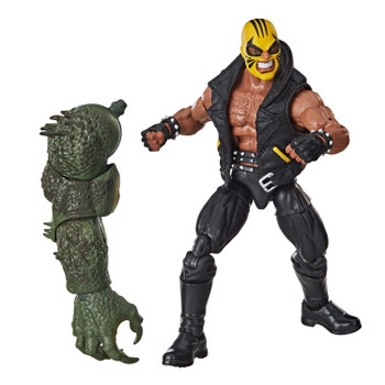 Marvel's Rage figure comes with Build-A-Figure part.