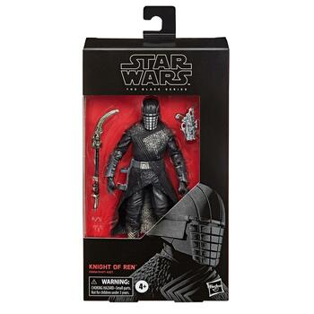 Star Wars The Black Series 6-Inch #105 KNIGHT OF REN Action Figure in packaging.
