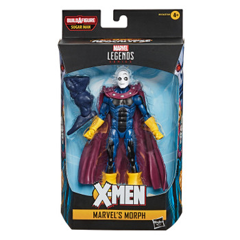 Fans, collectors, and kids alike can enjoy this 6-inch Morph figure, inspired by the character from the Marvel X-Men comics.