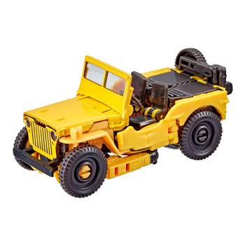2 ICONIC MODES: Figure converts between robot and Jeep mode in 26 steps. Perfect for fans looking for a more advanced converting figure. For kids and adults ages 8 and up.