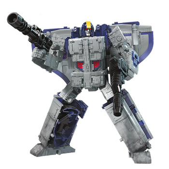 Transformers War for Cybertron: Earthrise Leader Class ASTROTRAIN Action Figure in robot mode.
