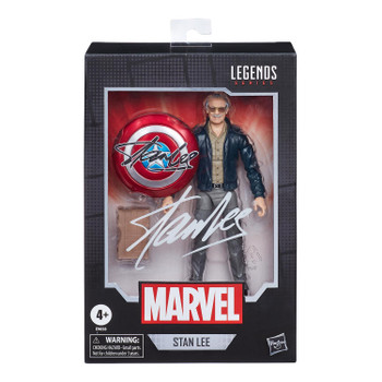 "6-INCH-SCALE COLLECTIBLE STAN LEE FIGURE: Fans, collectors, and kids alike can enjoy this 6-inch-scale Stan Lee figure, inspired by the creator of the Avengers himself, Stan ""the Man"" Lee!"