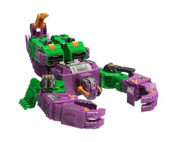 Transformers Generations War for Cybertron: Earthrise Titan Class SCORPONOK Action Figure in scorpion mode.