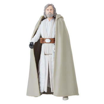 Star Wars 3.75-inch-scale Luke Skywalker (Jedi Master) Force Link 2.0-activated figure.