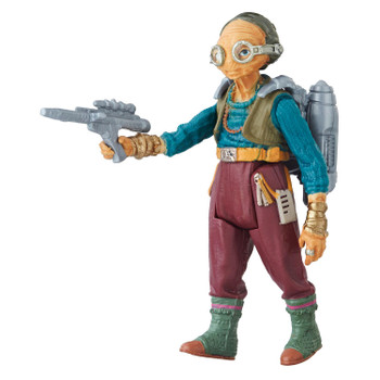 Star Wars 3.75-inch-scale Maz Kanata Force Link 2.0-activated figure.