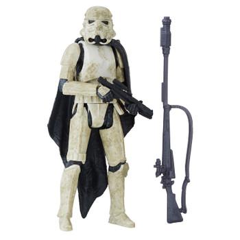 Star Wars 3.75-inch-scale Stormtrooper (Mimban) Force Link 2.0-activated figure.