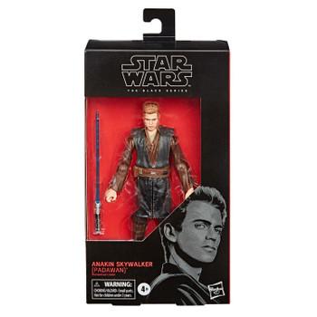 Star Wars The Black Series 6-Inch ANAKIN SKYWALKER (Padawan) Action Figure  in packaging.