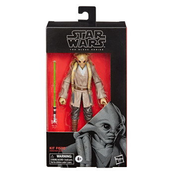 Star Wars The Black Series 6-Inch KIT FISTO Action Figure in packaging.