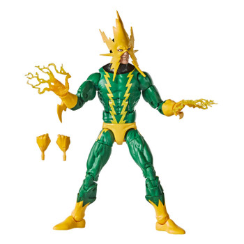 PREMIUM ARTICULATION AND DETAILING: This quality 6-inch Legends Series Retro Collection Marvel's Electro figure features multiple points of articulation and is a great addition to any action figure collection.