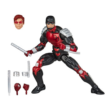 PREMIUM ARTICULATION AND DETAILING: The quality 6-inch Legends Series Retro Collection Daredevil figure features multiple points of articulation and is a great addition to any action figure collection.