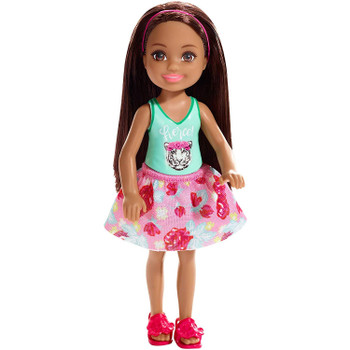 This 5.5-inch (14 cm) doll celebrates her strengths