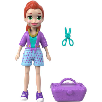 This Totes Cute Lila doll stands around 3.5 inches (9 cm) high and is ready for adventure, anytime, anywhere!