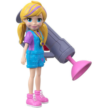 Polly doll also comes with a zipline blaster accessory