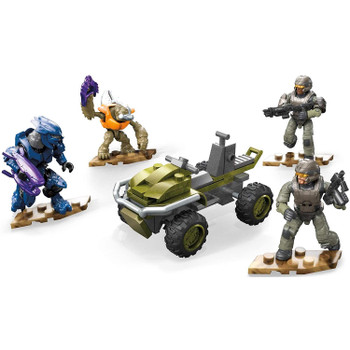 Mega Construx Halo Infinite RECON GETAWAY Construction Set.
