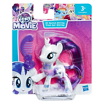 My Little Pony The Movie All About RARITY 8 cm Figure in packaging.