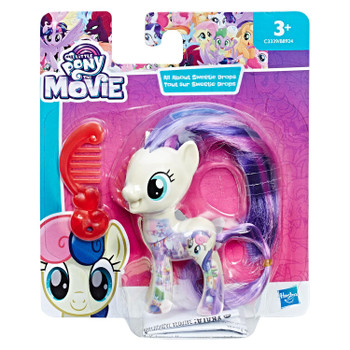 Sweetie Drops has beautiful hair and comes with a comb accessory.