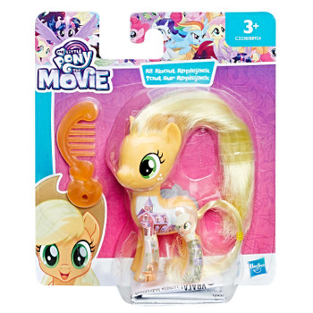 Applejack has beautiful hair and comes with a comb accessory.
