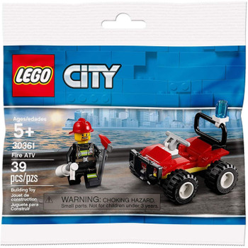 LEGO City 30361: Fire ATV in packaging.
