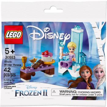 LEGO Disney Frozen II 30553: Elsa's Winter Throne in packaging.