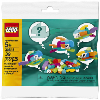 LEGO 30545: Fish Free Builds in packaging.