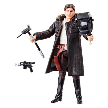 Star Wars The Vintage Collection 3.75-inch-scale Han Solo figure that features premium deco across multiple points of articulation and design inspired by the Star Wars: The Empire Strikes Back movie.