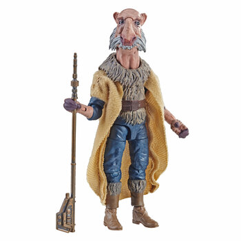Star Wars The Vintage Collection 3.75-inch-scale Saelt-Marae figure features premium deco across multiple points of articulation and design inspired by Star Wars: Return of the Jedi.