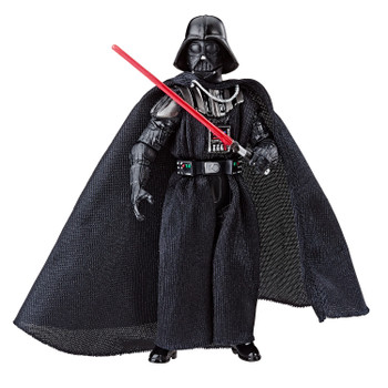 Star Wars The Vintage Collection 3.75-inch-scale Darth Vader figure features premium deco across multiple points of articulation and design inspired by the Star Wars: The Empire Strikes Back movie.