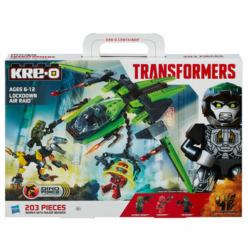 KRE-O Transformers LOCKDOWN AIR RAID Construction Set in packaging.