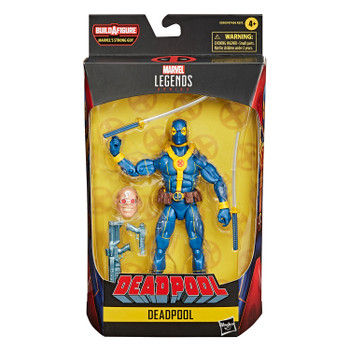 Marvel Legends Series Deadpool Collection 6-Inch DEADPOOL Action Figure in packaging.