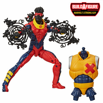 Marvel Legends Series Deadpool Collection 6-Inch MARVEL'S SUNSPOT Action Figure comes with 2 accessories and Build-A-Figure part.