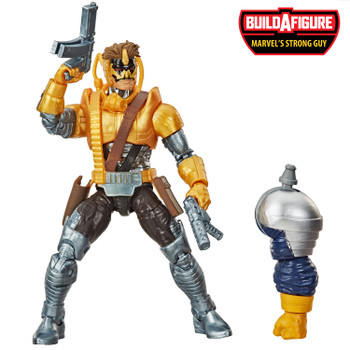 Marvel Legends Series Deadpool Collection 6-Inch MARVEL'S MAVERICK Action Figure comes with 2 accessories and Build-A-Figure piece.
