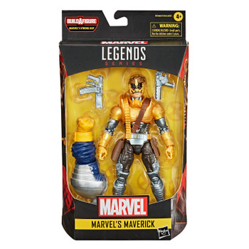 Marvel Legends Series Deadpool Collection 6-Inch MARVEL'S MAVERICK Action Figure in packaging.