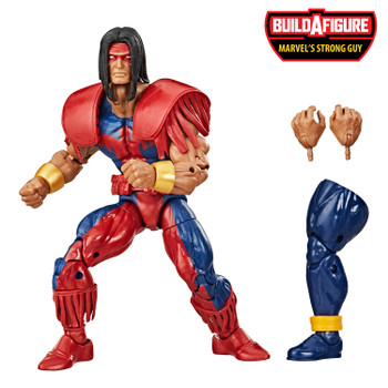 Marvel Legends Series Deadpool Collection 6-Inch MARVEL'S WARPATH Action Figure comes with 2 accessories and Build-A-Figure piece.