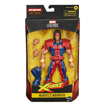 Marvel Legends Series Deadpool Collection 6-Inch MARVEL'S WARPATH Action Figure in packaging.