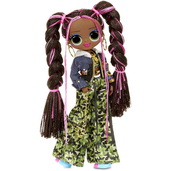 HIP HOP VIBES: Honeylicious is inspired by hip hop music and she's all about creating the perfect mix – in music and in fashion – with her comfy casual hoodie and camo print pants.