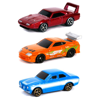 Relive the nostalgia with some of Hollywood's most iconic vehicles with Nano Hollywood Rides from Jada Toys. Each Nano scale die-cast collectible vehicle features a die-cast body and is a must have in any Fast & Furious collection!