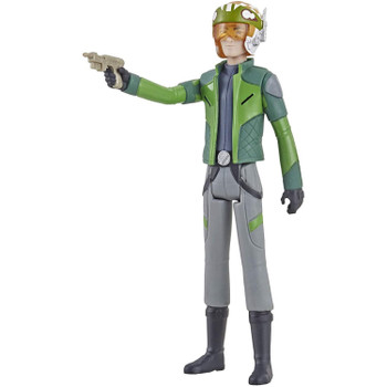 Inspired by the animated series Star Wars: Resistance, this 3.75-inch-scale Kazuda Xiono action figure features 5 points of articulation and comes with blaster pistol accessory and removable helmet.