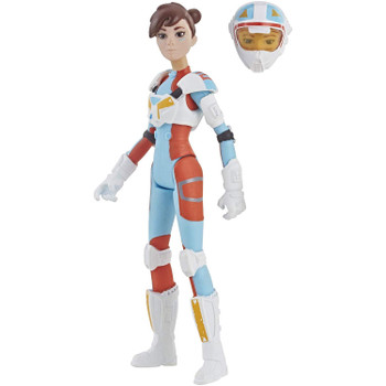 Inspired by the animated series Star Wars: Resistance, this 3.75-inch-scale Torra Doza action figure features 5 points of articulation and comes with alternative helmeted head.