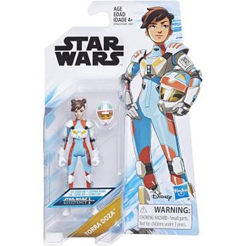 Star Wars: Resistance TORRA DOZA 3.75-Inch Action Figure in packaging.