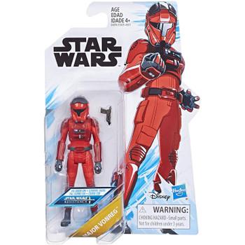 Star Wars: Resistance MAJOR VONREG 3.75-Inch Action Figure in packaging.