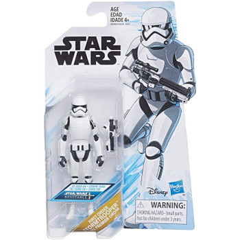 Star Wars: Resistance FIRST ORDER STORMTROOPER 3.75-Inch Action Figure in packaging.