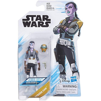 Star Wars: Resistance SYNARA SAN 3.75-Inch Action Figure in packaging.