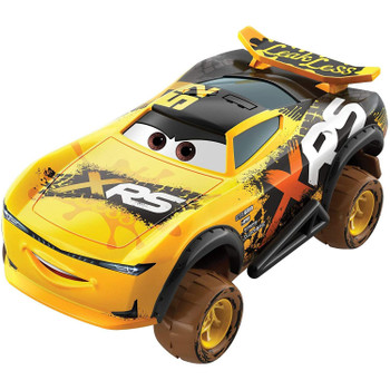 Exciting, new 1:55 scale Disney Pixar Cars die-cast vehicles for extreme racing fun.