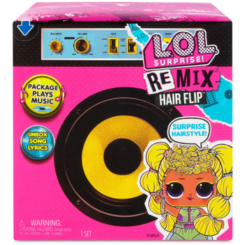 L.O.L. Surprise! - Remix HAIR FLIP Doll in packaging.